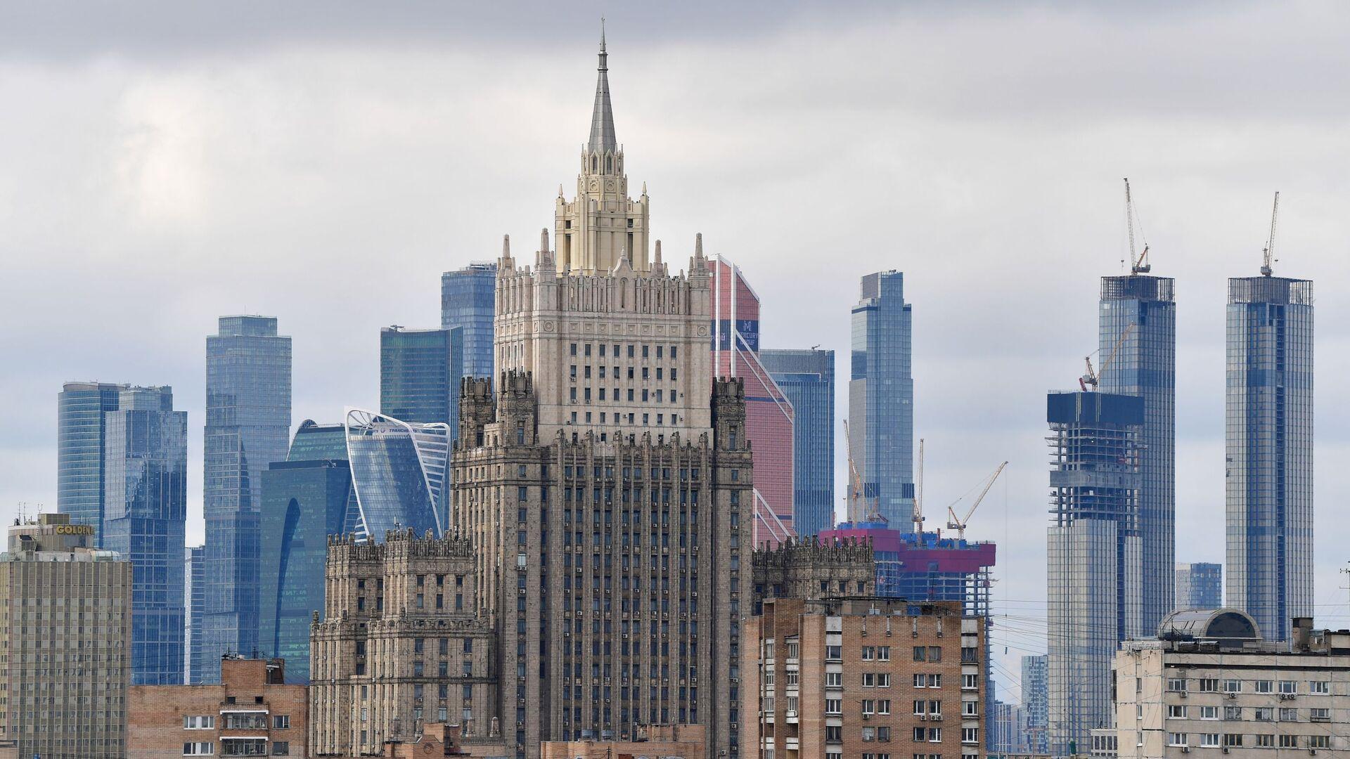 Зграда Министарства спољних послова Русије у Москви - Sputnik Србија, 1920, 22.04.2021