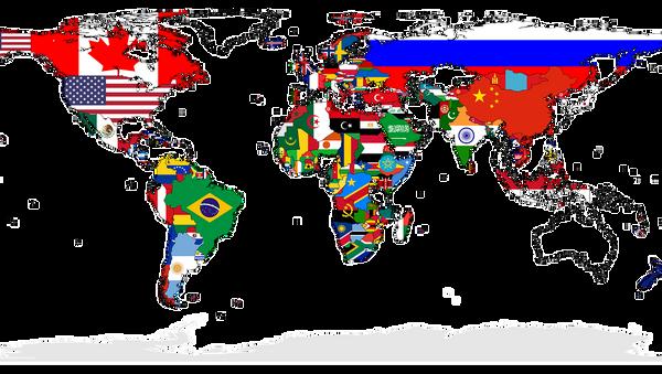 Karta sveta - Sputnik Srbija