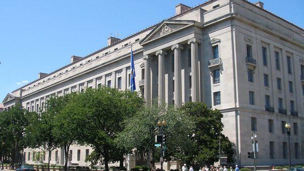 Zgrada američkog Ministarstva pravde u Vašingtonu - Sputnik Srbija