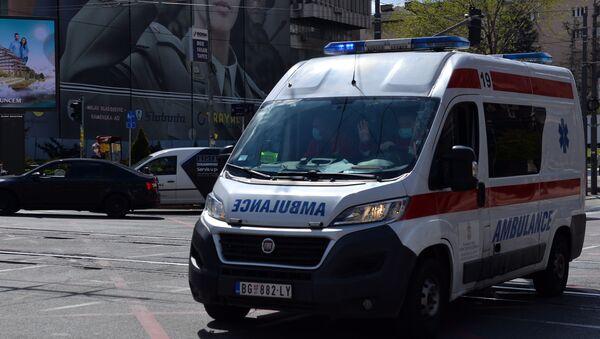 Vozilo hitne pomoći - Sputnik Srbija