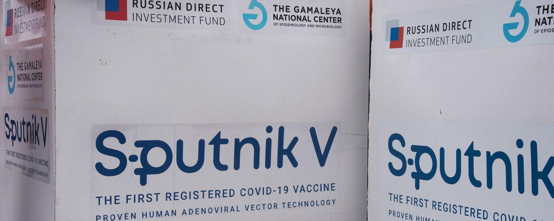 Paketi sa vakcinom protiv kovida Sputnjik Ve - Sputnik Srbija, 1920, 09.05.2021