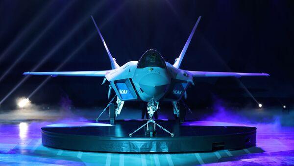 Јужнокорејски борбени авион КФ-21  - Sputnik Србија