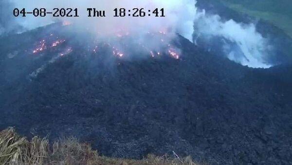 Ерупција вулкана на Карибима - Sputnik Србија