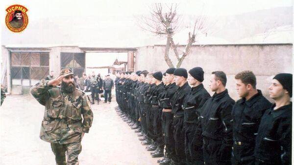 Ridvan Ćazimi, poznatiji kao kapetan Leši, komandanat terorističke organizacije Oslobodilačke vojske Preševa, Bujanovca i Medveđe - Sputnik Srbija