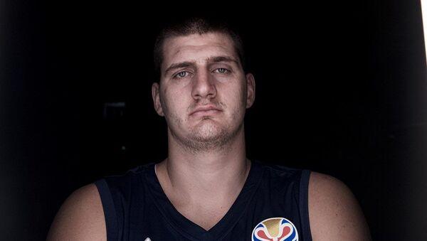 Srpski košarkaš Nikola Jokić - Sputnik Srbija