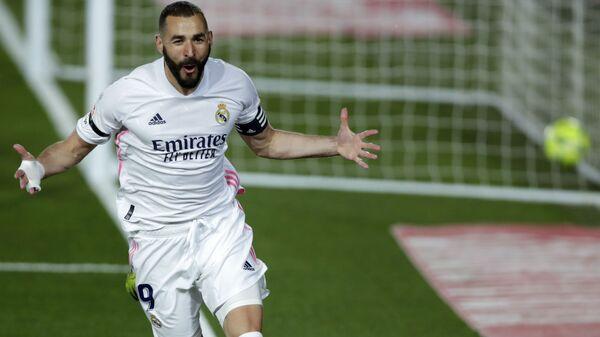 Napadač Real Madrida Karim Benzema - Sputnik Srbija