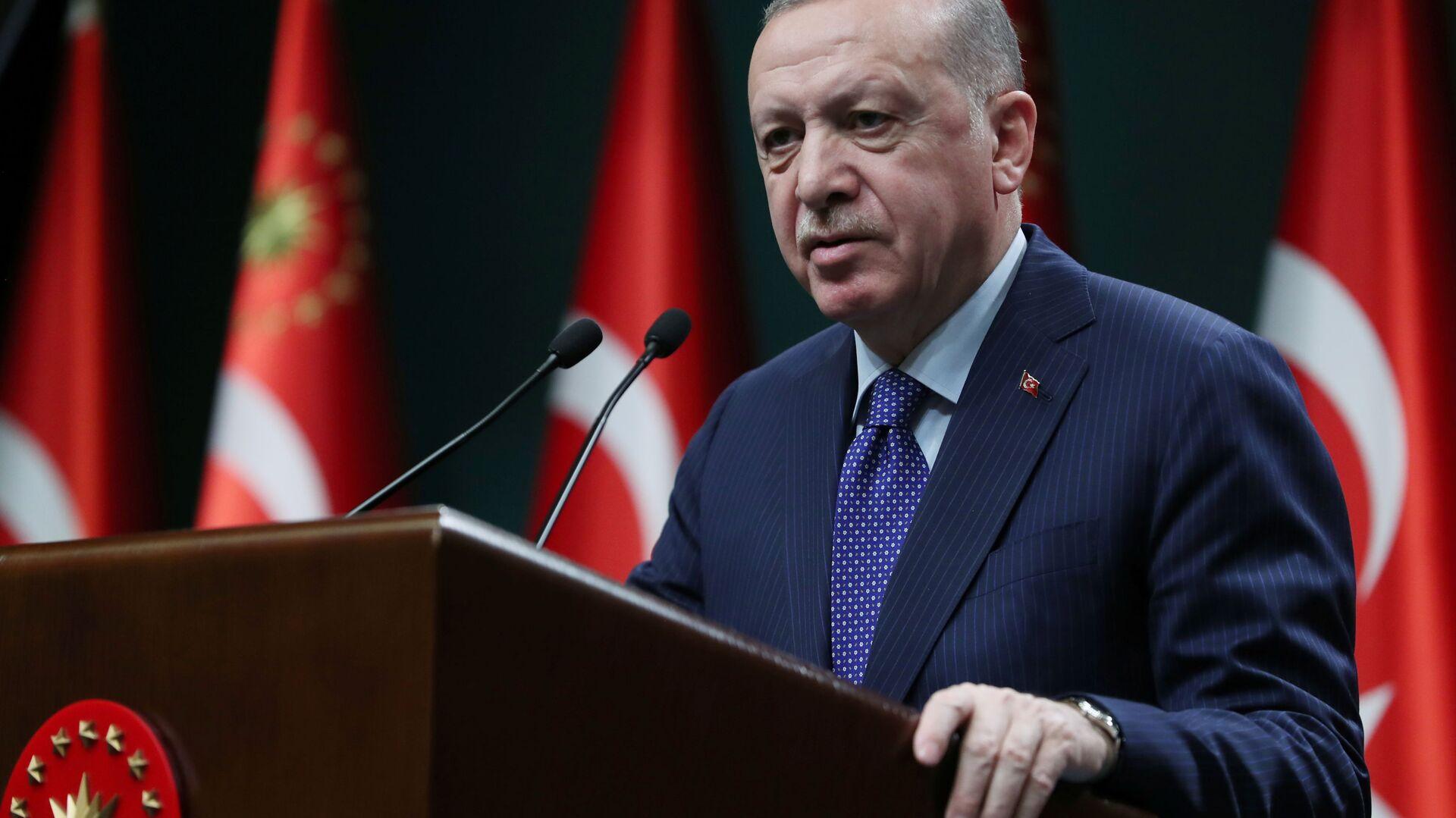 Председник Турске Реџеп Тајип Ердоган - Sputnik Србија, 1920, 23.09.2021