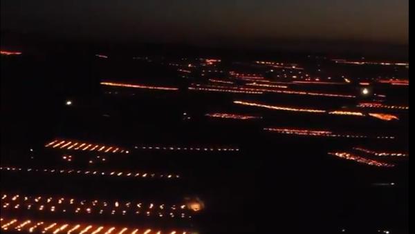 Hiljade sveća za vinograde: Kako se farmeri bore protive mraza - Sputnik Srbija