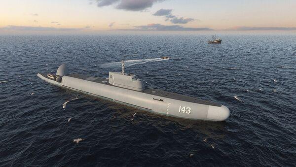 "Руски подводни патролни брод ""Страж"" - Sputnik Србија"