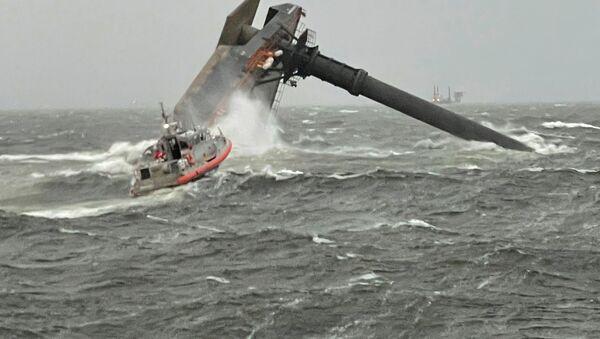 Potonuo brod u Meksičkom zalivu - Sputnik Srbija