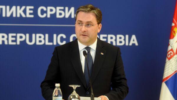Ministar spoljnih poslova Srbije Nikola Selaković - Sputnik Srbija