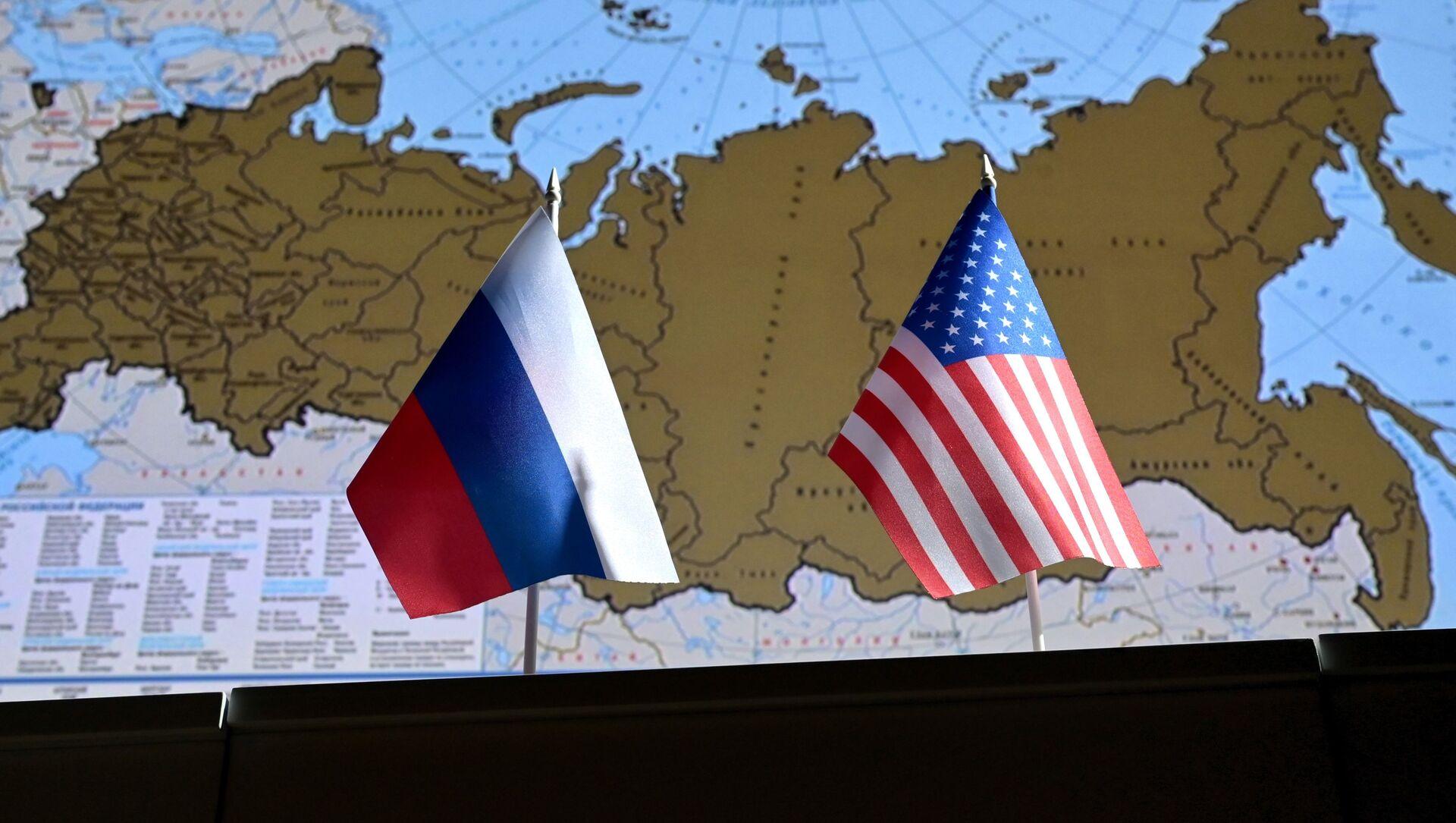 Zastave Rusije i SAD - Sputnik Srbija, 1920, 15.04.2021