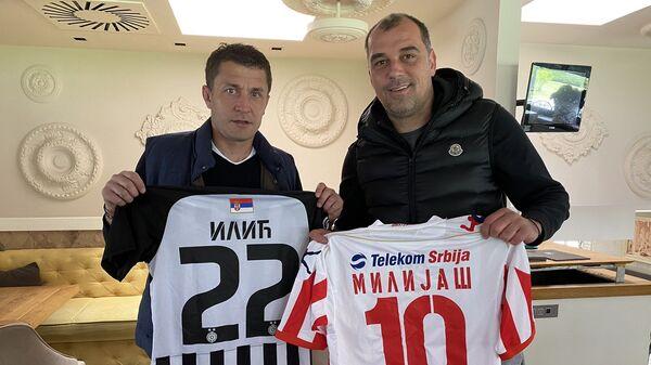 Saša Ilić i Nenad Milijaš - Sputnik Srbija