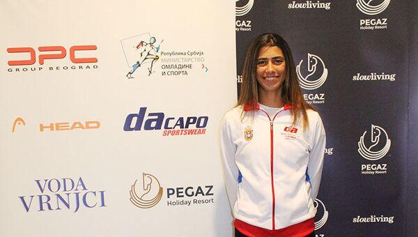 Srpska teniserka Olga Danilović pred duel sa Kanadom u Bili Džin King kupu - Sputnik Srbija