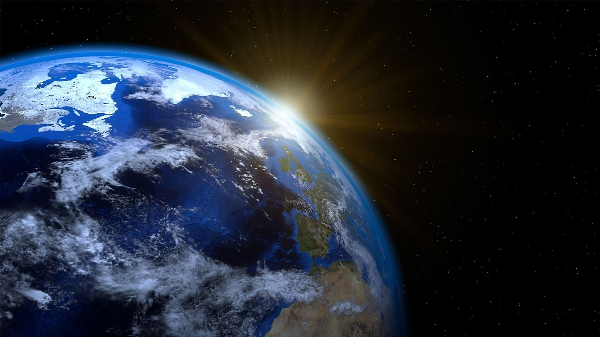 Планета Земља и Сунце - Sputnik Србија, 1920, 08.06.2021