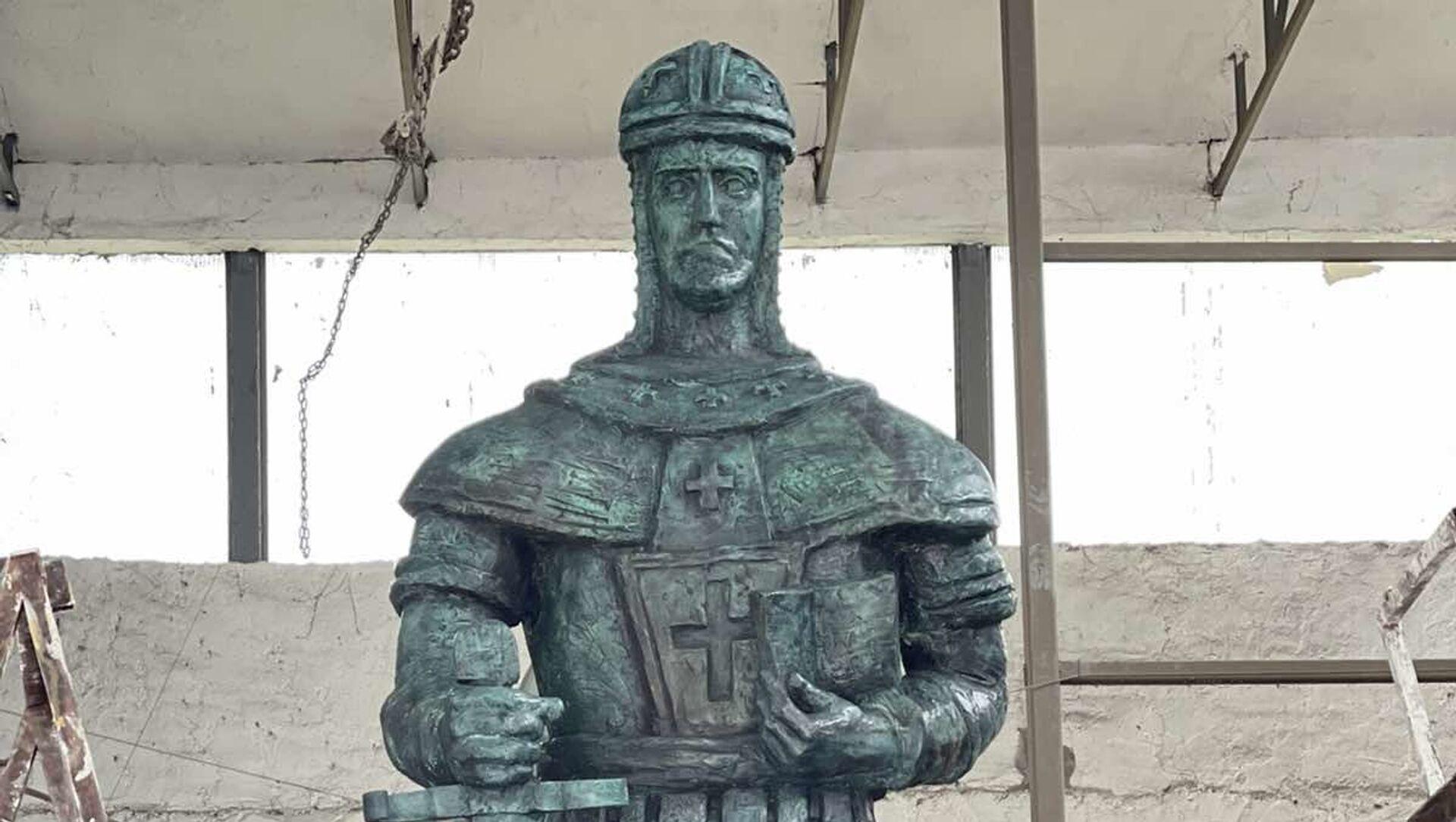 Споменик деспоту Стефану Лазаревићу који ће бити постављен у Београду - Sputnik Србија, 1920, 16.04.2021