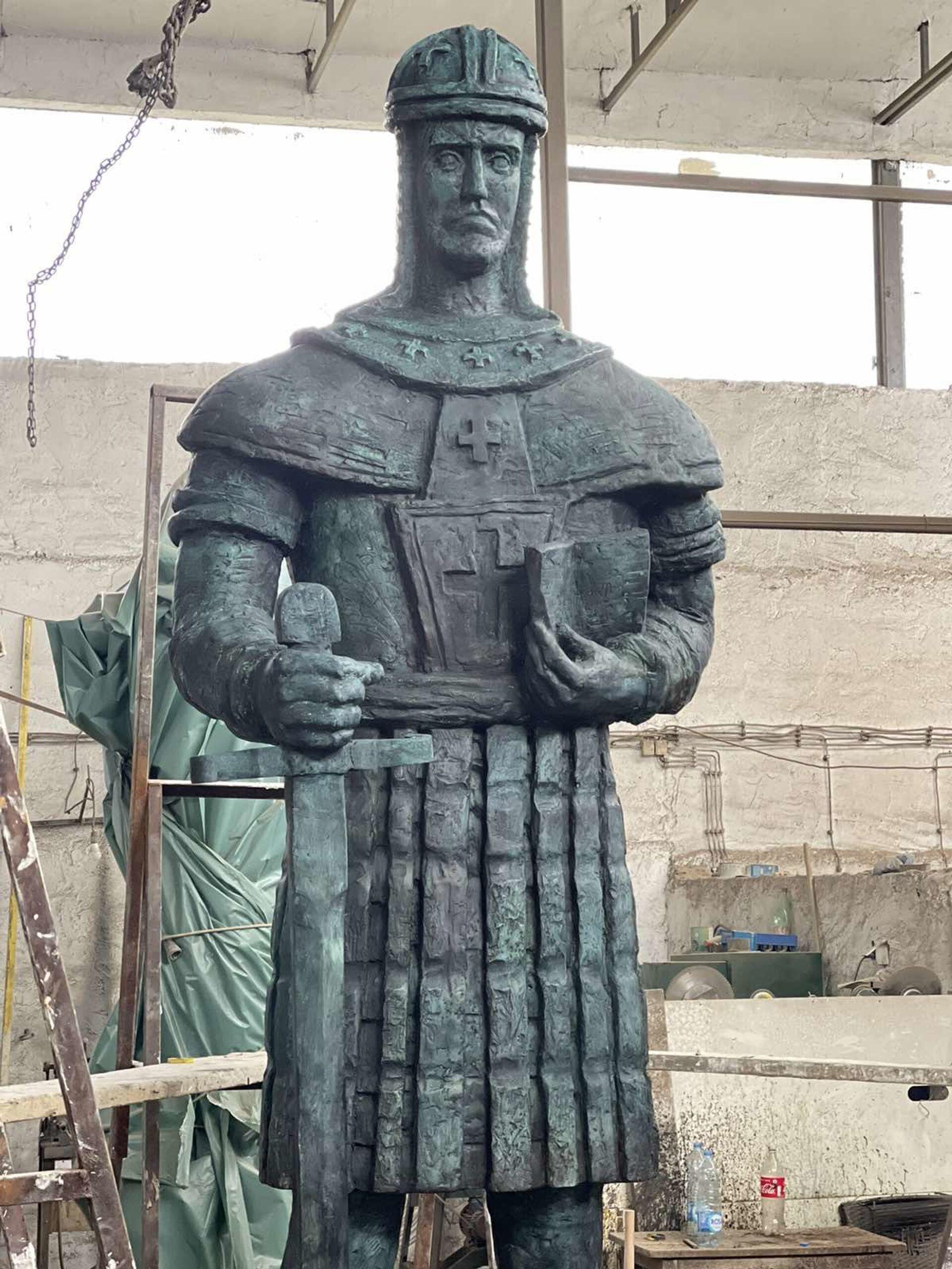 Ексклузивно: Овако изгледа споменик деспоту Стефану Лазаревићу који ће бити постављен у Београду - Sputnik Србија, 1920, 16.04.2021