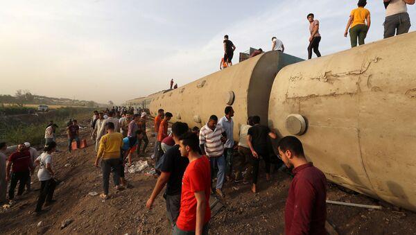 Železnička nesreća u Egiptu - Sputnik Srbija