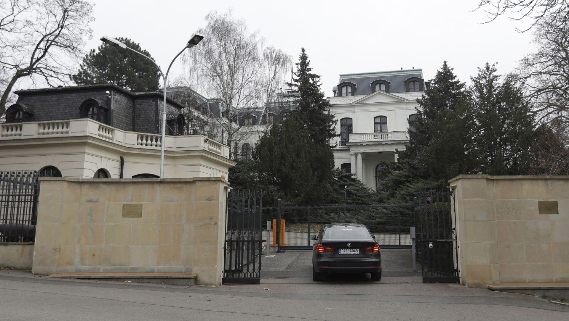 Зграда амбасаде Русије у Прагу - Sputnik Србија, 1920, 18.04.2021