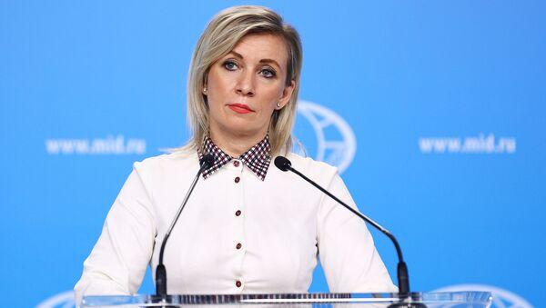 Портпаролка Министарства спољних послова Русије Марија Захарова - Sputnik Србија