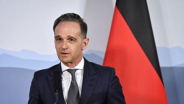 Nemački ministar spoljnih poslova Hajko Mas - Sputnik Srbija