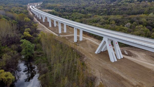 Vijadukt Čortanovci - Sputnik Srbija