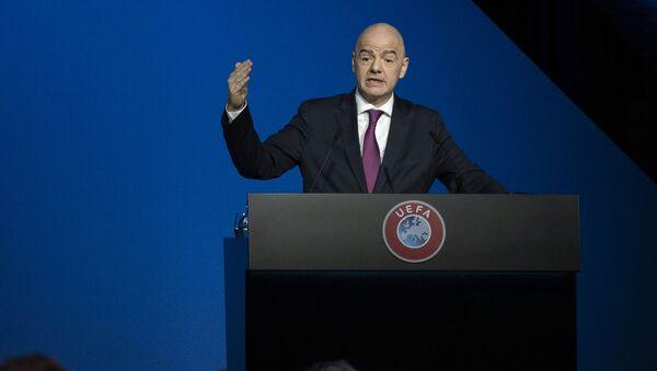 Председник ФИФА Ђани Инфантино - Sputnik Србија