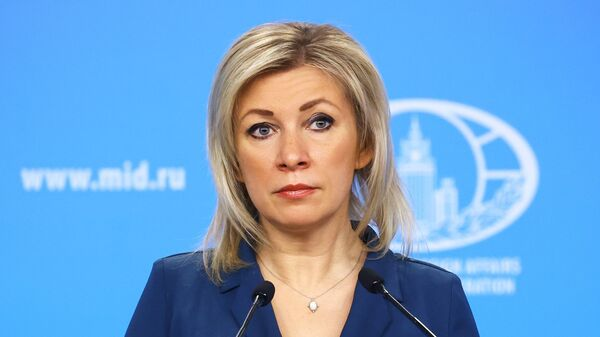 Портпаролка руског Министарства спољних послова Марија Захарова - Sputnik Србија