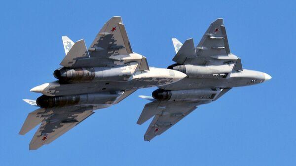 Ловци пете генерације Су-57 - Sputnik Србија