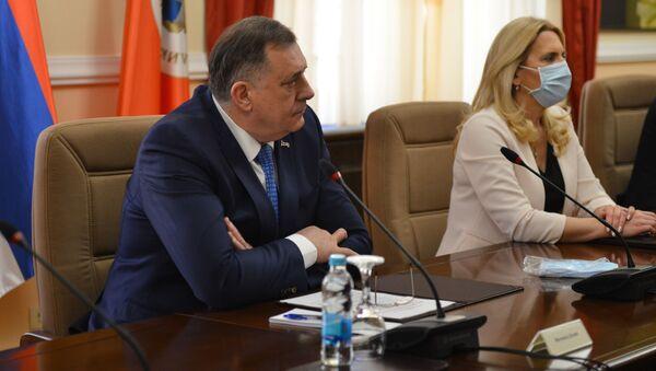 Милорад Додик и Жељка Цвијановић - Sputnik Србија