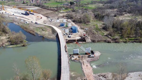 Izgradnja auto-puta Preljina-Požega kod mesta Pakovraće - Sputnik Srbija