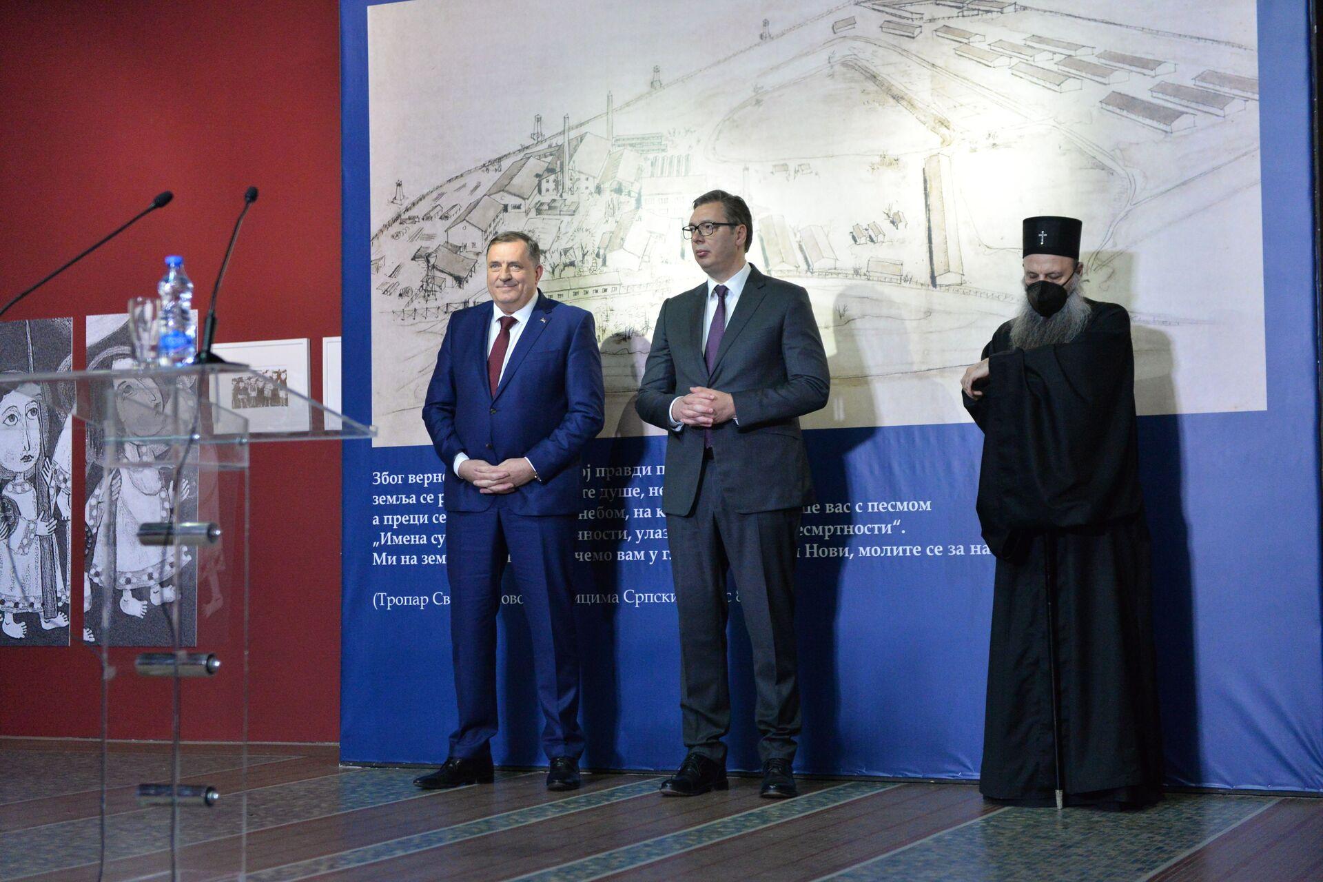 Vučić: Srpski narod pobeđivaće i u budućnosti - Sputnik Srbija, 1920, 22.04.2021