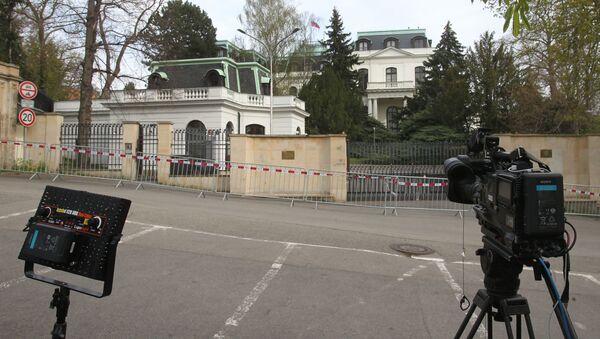 Амбасада Русије у Прагу - Sputnik Србија