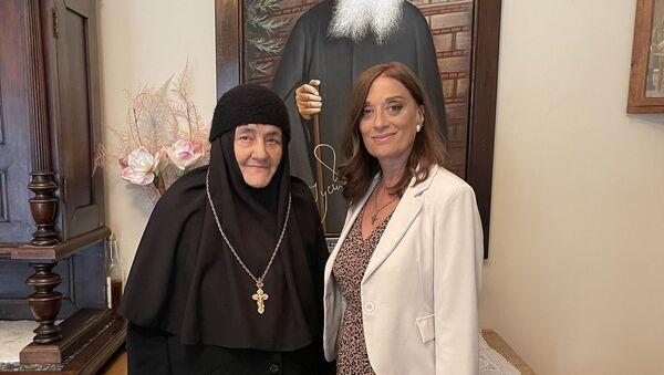 Mati Glikerija i Marina Rajević Savić - Sputnik Srbija