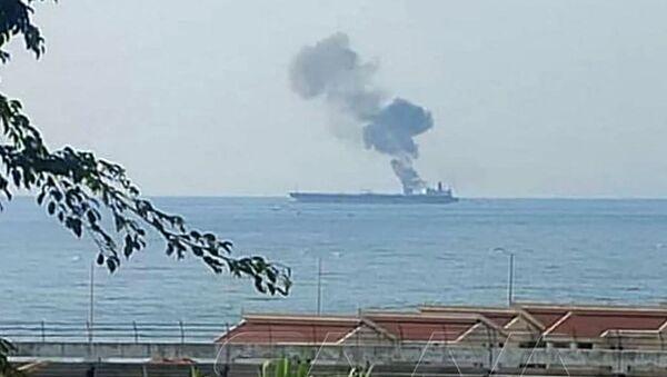 Ирански танкер нападнут код сиријске обале - Sputnik Србија