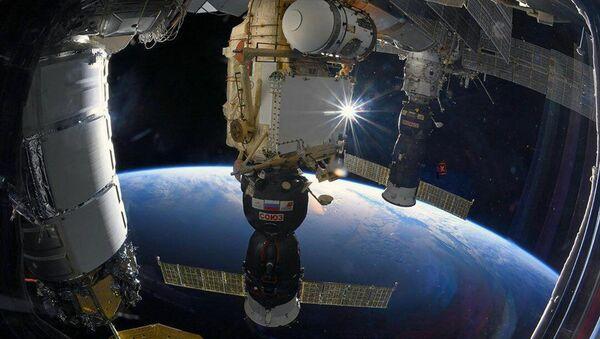 Svemirski brod Sojuz MS pristao na Međunarodnu svemirsku stanicu - Sputnik Srbija