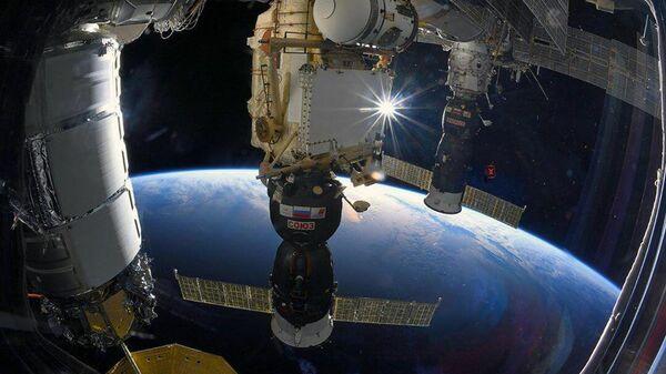 Свемирски брод Сојуз МС пристао на Међународну свемирску станицу - Sputnik Србија