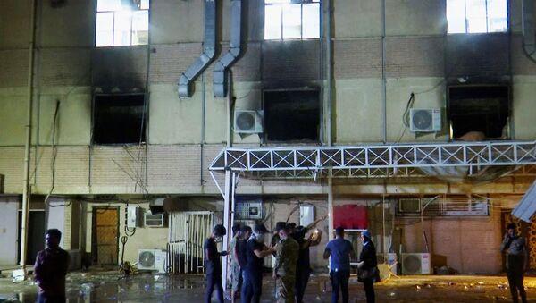 Požar u kovid bolnici u Bagdadu - Sputnik Srbija