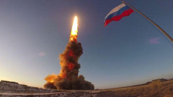 Ракетна проба новог руског ПРО система на полигону Сари Шаган у Казахстану - Sputnik Србија