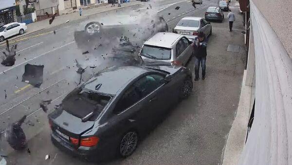 Тешка саобраћајна несрећа у Загребу - Sputnik Србија
