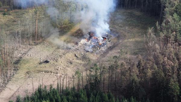 Eksplozija na skladištu municije Vrbjetice, Češka  - Sputnik Srbija
