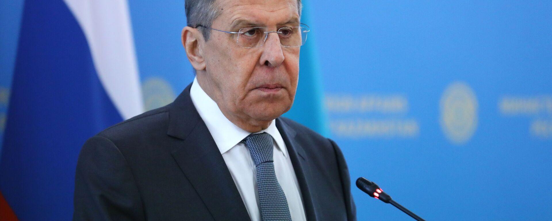 Ministar spoljnih poslova Rusije Sergej Lavrov - Sputnik Srbija, 1920, 13.08.2021