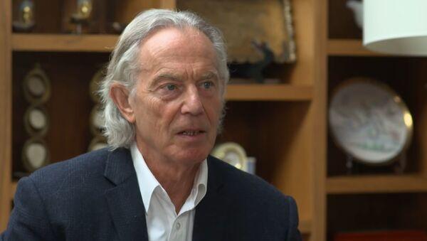 Тони Блер, бивши премијер Велике Британије - Sputnik Србија