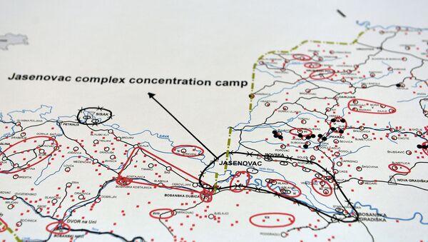 Мапа геноцида у НДХ  - Sputnik Србија