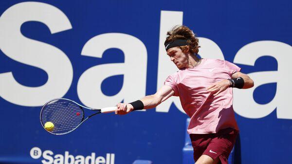 Andrej Rubljov, ruski teniser, na turniru u Barseloni - Sputnik Srbija