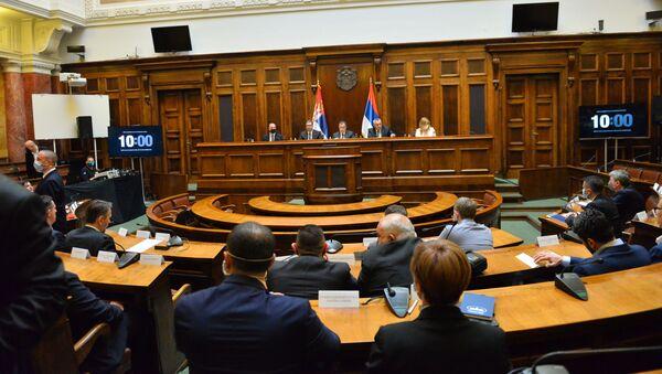 Međustranački dijalog u Narodnoj skupštini Republike Srbije - Sputnik Srbija