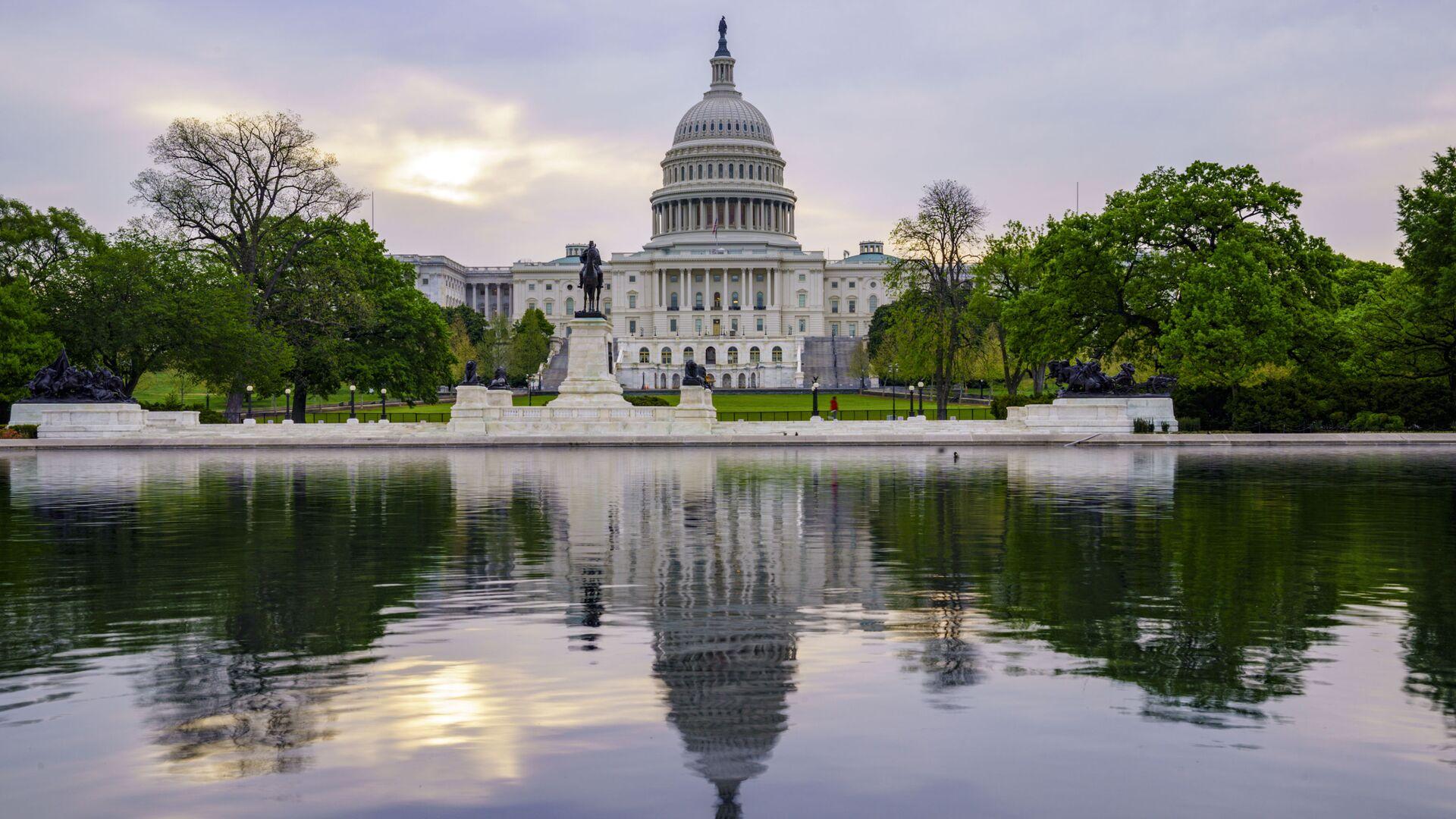 Pogled na američki Kapitol u Vašingtonu - Sputnik Srbija, 1920, 28.09.2021