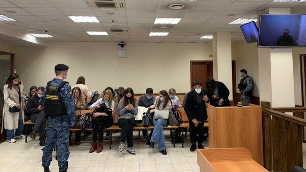 Razmatranje slučaja Alekseja Navaljnog u sudu u Moskvi  - Sputnik Srbija