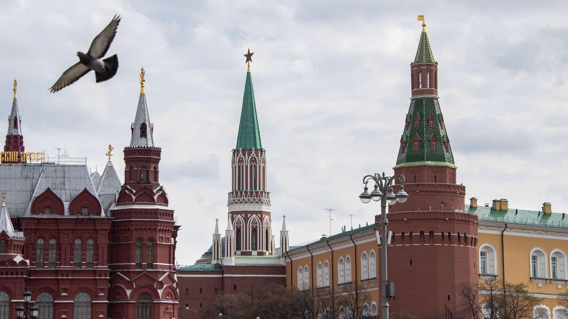 Поглед на московски Кремљ - Sputnik Србија, 1920, 08.10.2021