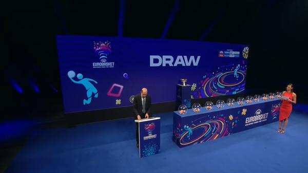Žreb za Evropsko prvenstvo u košarci 2022. godine - Sputnik Srbija